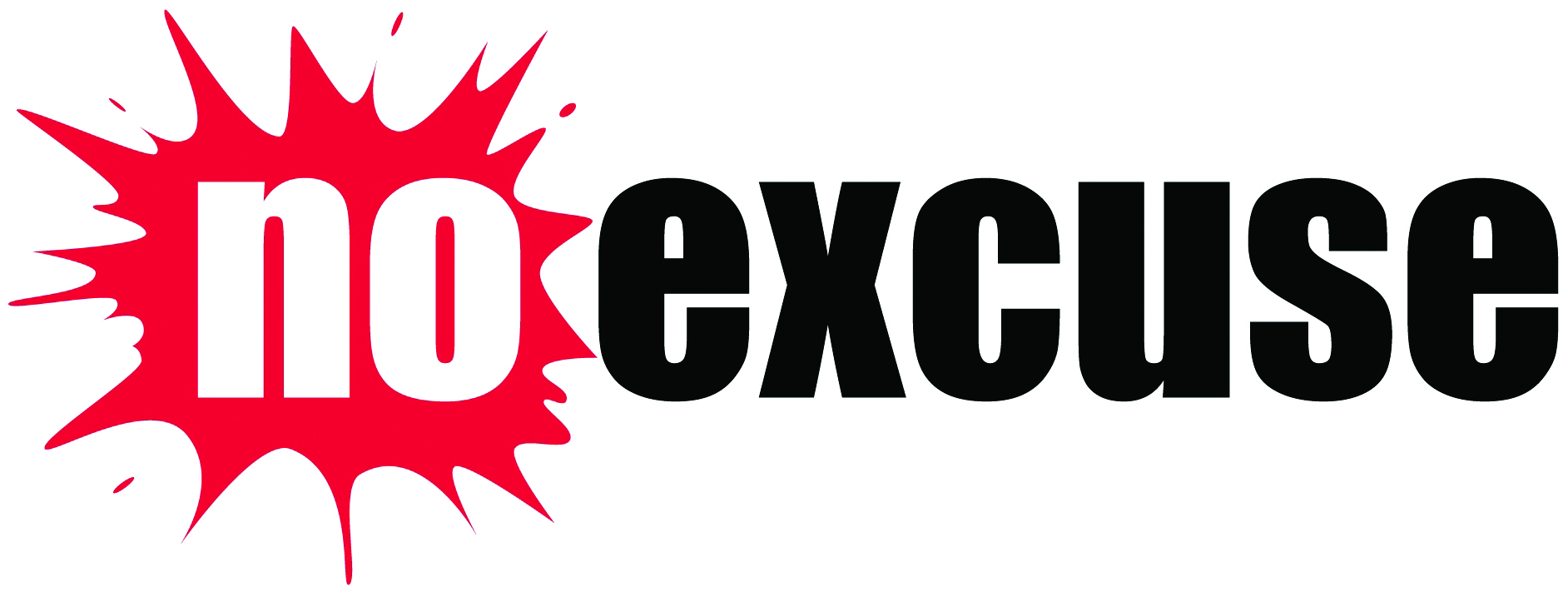 No Excuse Logo